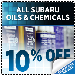 Save on genuine Subaru Oils and Chemicals in San Bernardino, CA - click to learn more