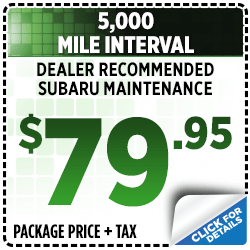 Click to view our 5,000 mile interval service special in San Bernardino, CA