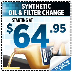 Click to browse our synthetic oil change service special at Subaru of San Bernardino