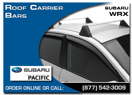 Torrance, Subaru, Roof Carrier Bars, Wrx / Sti, Accessories, Parts,
