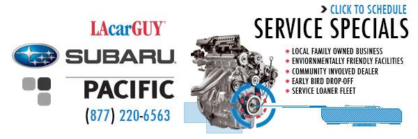 Subaru Pacific Service Specials Torrance