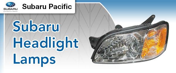Genuine Subaru Headlight Lamp Replacement Parts Torrance California