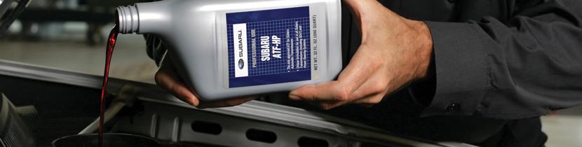 Subaru Automatic Transmission Fluid Change Service - service