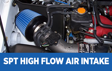 Click to view our Subaru SPT High Flow Air Intake performance parts information in Surprise, AZ