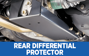 Click to view our Rear Differential Protector performance parts information in Surprise, AZ