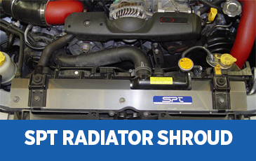 Click to view our Subaru SPT Radiator Shroud performance parts information in Surprise, AZ