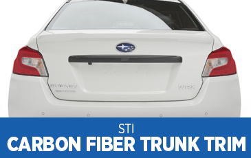 Learn more about the STI Carbon Fiber Trunk Trim at Subaru Superstore of Surprise