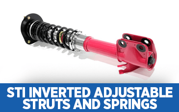 Click to research STI Inverted Adjustable Struts & Springs information at Subaru  Superstore of Surprise