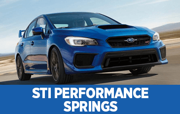 Click to view our Subaru STI Performance Springs parts information in Surprise, AZ