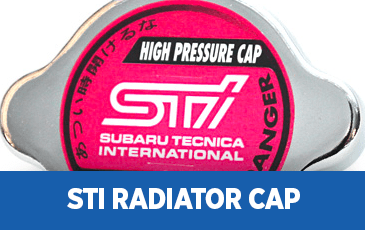 Click to view our Subaru STI Radiator Cap performance parts information in Surprise, AZ