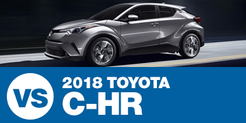 Click to Compare the 2018 Subaru Crosstrek VS Toyota C-HR at Subaru Superstore of Surprise, AZ