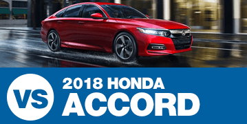 Click to Compare the 2018 Subaru Legacy VS Honda Accord at Subaru Superstore of Surprise, AZ