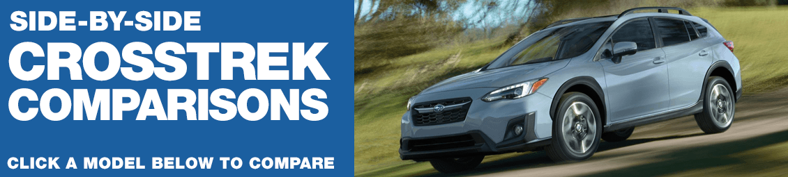 Compare 2018 Subaru Crosstrek VS The Competition at Subaru Superstore of Surprise, AZ