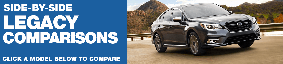 Compare 2018 Subaru Legacy VS The Competition at Subaru Superstore of Surprise, AZ