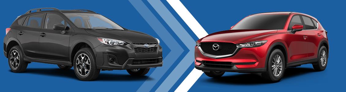 2018 Subaru Crosstrek Vs 2018 Mazda CX 5 Model Comparison At Subaru  Superstore Of Surprise