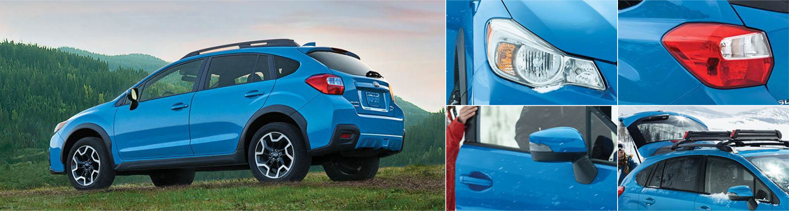 2017 Subaru Crosstrek Model Exterior Styling and Features