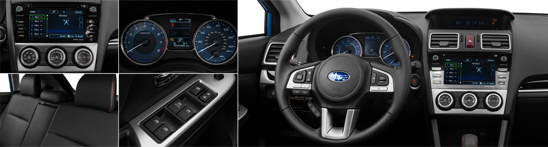 2017 Subaru Crosstrek Model Interior Styling and Features
