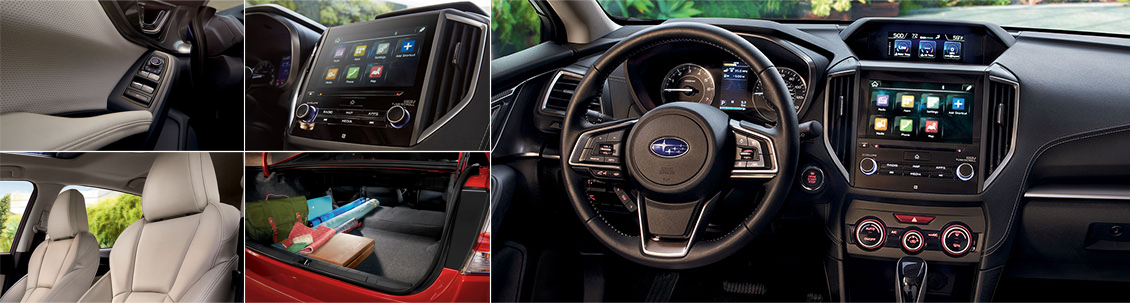 2017 Subaru Impreza Model Interior Styling and Features