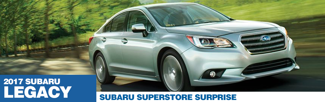 2017 Subaru Legacy Model Specifications and Information