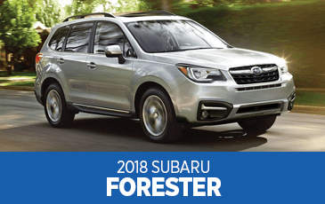 Browse our 2018 Forester model information at Subaru Superstore of Surprise