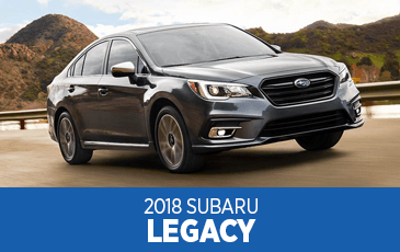 Browse our 2018 Legacy model information at Subaru Superstore of Surprise