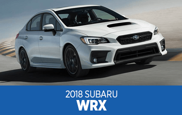 Browse our 2018 WRX model information at Subaru Superstore of Surprise