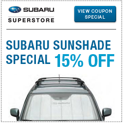 Click to view this Subaru Sunshade Parts Special serving Phoenix, AZ