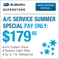 Save on Subaru Service, Maintenance, & Repair with Special Offers in