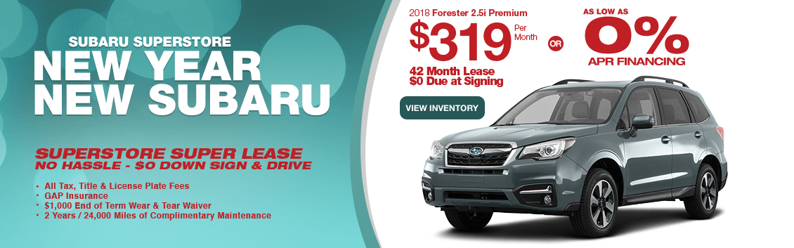 2018 Subaru Forester 2.5i Premium Lease or Low APR Special serving Phoenix, AZ