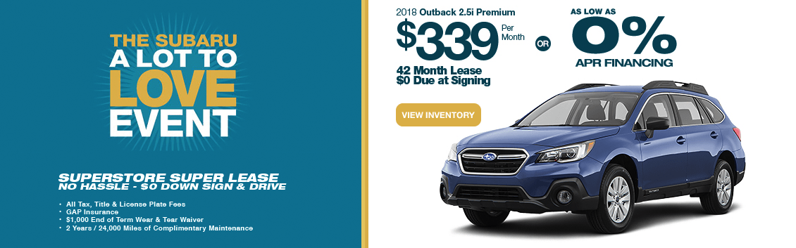 subaru motors finance lease address
