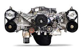 2.5-liter Turbocharged Flat-4 Boxer Engine