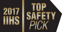 Subaru 2017 IIHS  Top Safety Pick Award