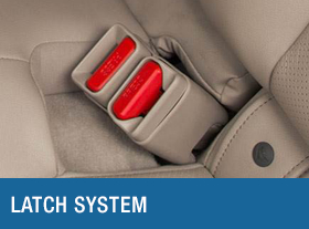 Subaru Latch System