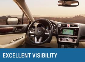 Subaru Driving Visibility
