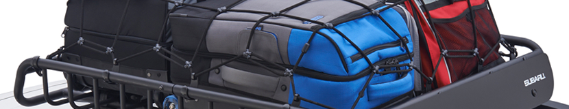 Research our heavy duty cargo baskets at Subaru Superstore