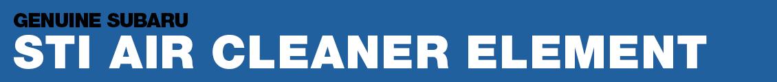 Subaru SPT Air Cleaner Element Performance Parts Information serving Phoenix, AZ