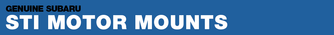 Subaru STI Motor Mounts Performance Parts Information serving Phoenix, AZ