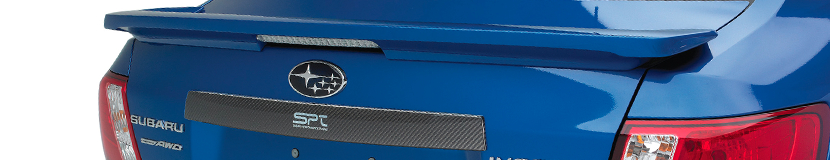 Bring style to your Subaru with a STI carbon fiber trunk trim available in Chandler, AZ