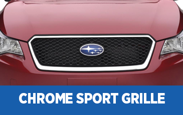 Click to view our Subaru Chrome Sport Grille performance parts information serving Phoenix, AZ
