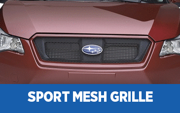 Click to view our Subaru Sport Mesh Grille performance parts information serving Phoenix, AZ
