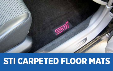 Click to view our STi Carpeted Floor Mats information in Chandler, AZ