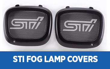 Click to browse our STI Fog Lamp Covers performance parts information at Subaru Superstore of Chandler