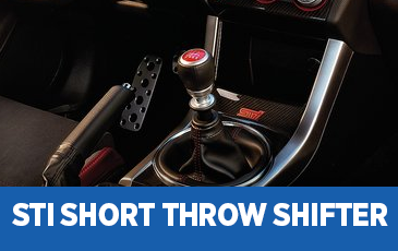Click to view our STI Short Throw Shifter information in Chandler, AZ