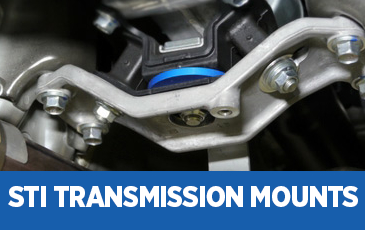Click to view our Subaru STI Transmission Mounts performance parts information in Chandler, AZ
