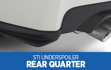 Browse our STI Rear Quarter Under Spoiler information at Subaru Superstore of Chandler