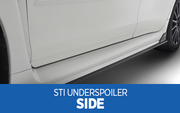 Browse our STI Side Under Spoiler information at Subaru Superstore of Chandler