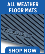 Click to shop for genuine Subaru all-weather floor mats in Chandler, AZ