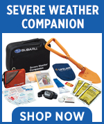 Click to shop for genuine Subaru severe weather companion kits in Chandler, AZ