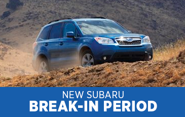 Click to get answers to Subaru break-in period FAQs in Chandler, AZ