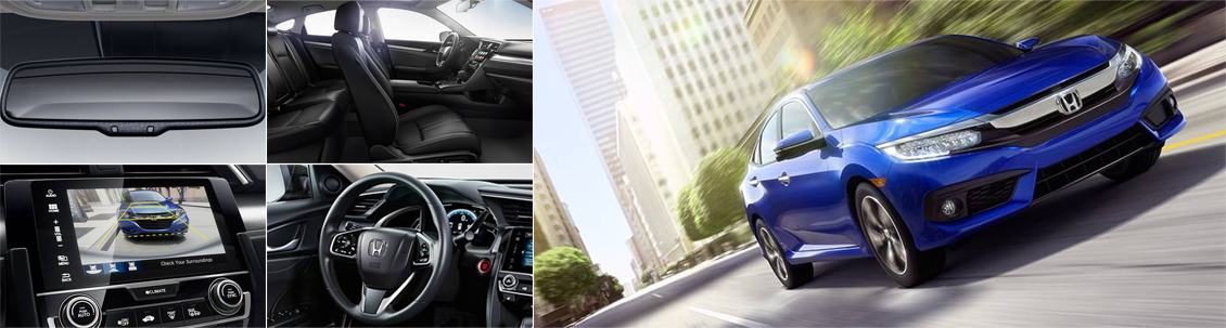 New 2016 Honda Civic Interior & Exterior Features